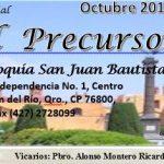 Hoja parroquial - octubre 2014